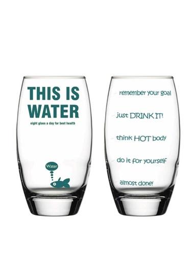 Thıs Is Water Tasarım Bardak-Rakle